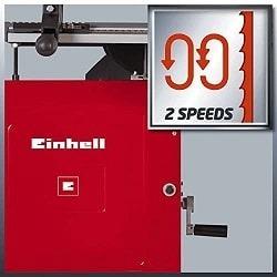 2 velocidades sierra de cinta tc-sb 305 u