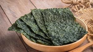 Alga marina para sushi